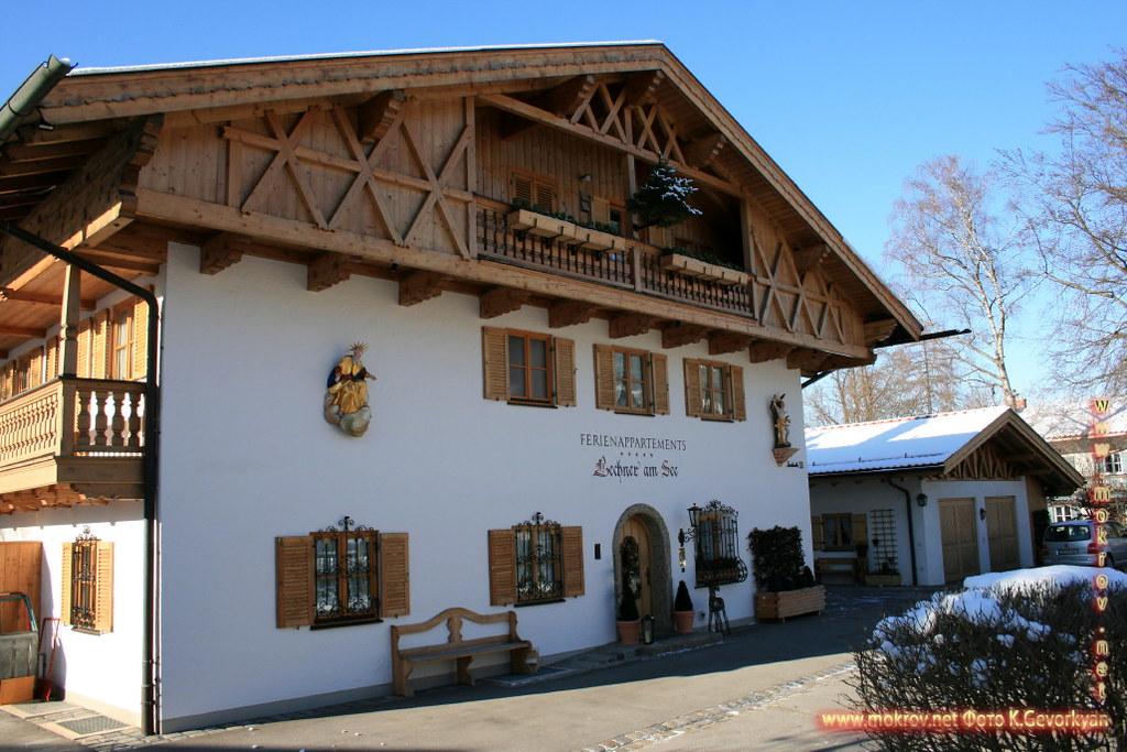 Бавария — земля на юге и юго-востоке Германии прогулки туристов