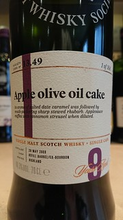 SMWS 13.49 - Apple olive oil cake
