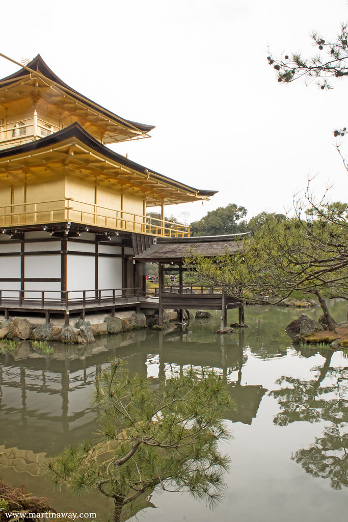 Kinkaku-ji, Padiglione d'Oro
