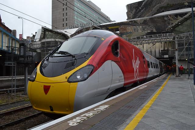 Virgin Trains Pendolino 390010 Cumbrian Spirit