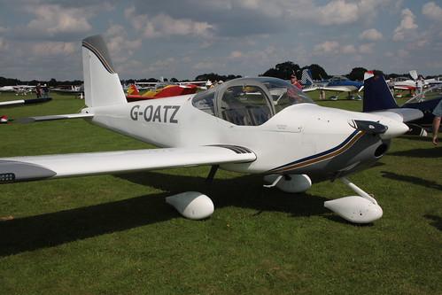 G-OATZ Van's RV-12 [LAA 363-15079] Sywell 020917
