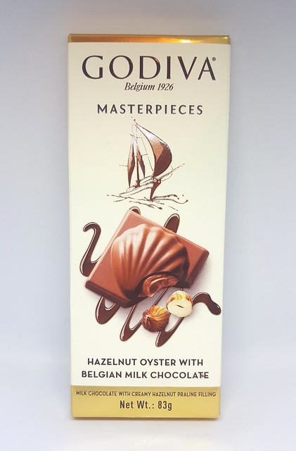 Godiva Hazelnut Oyster with Belgian Chocolate