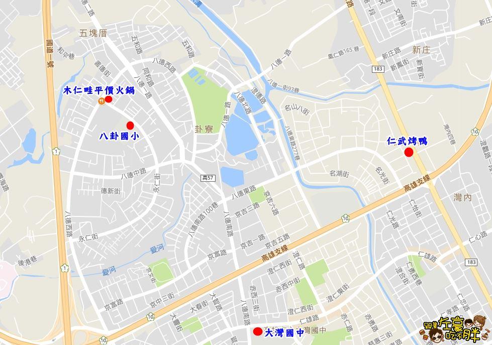 木仁畦地圖-1