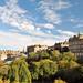 Edinburgh, Blick auf Old Town von Princess Street Gardens