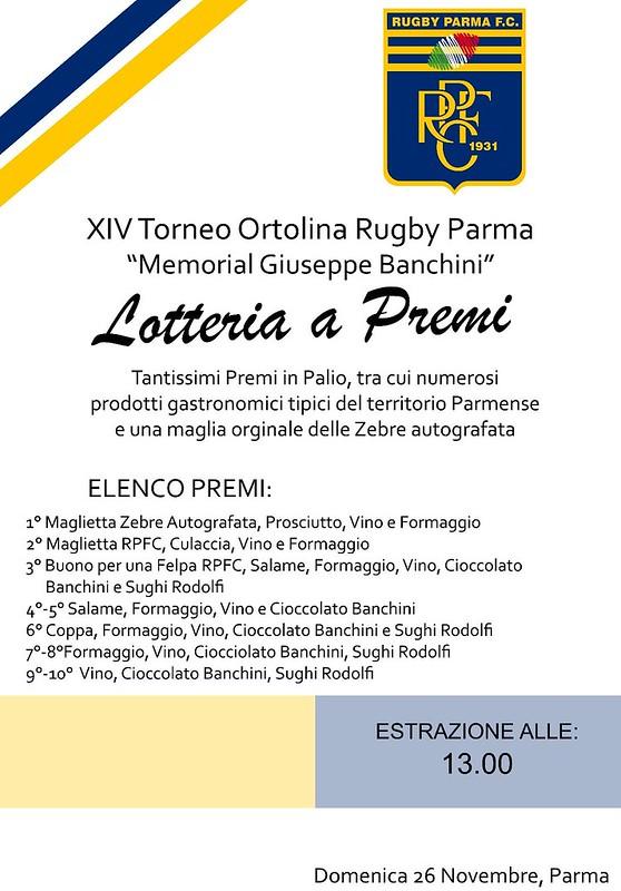 Lotteria XIV Torneo Ortolina - Memorial Banchini (Federico Uriati)