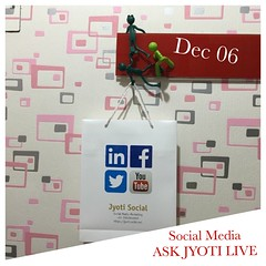Discuss social media with a specialist Jyoti Zaveri!