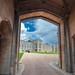 Windsor castle  Upper Ward view