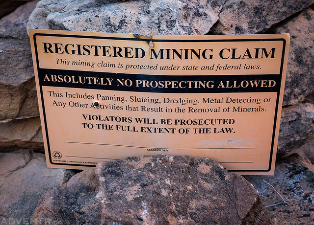 Registered Mining Claim