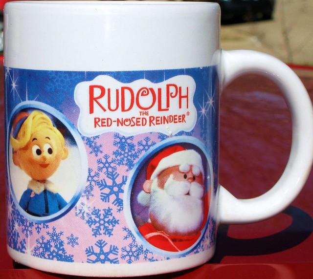 Rudolph Xmas mug 2007 (2)