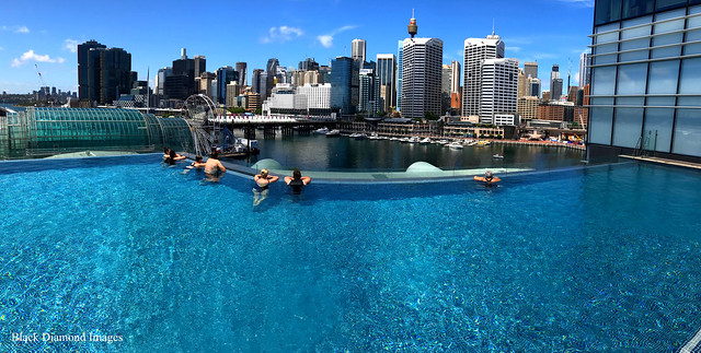 Infinity Pool, Sofitel Hotel, Darling Harbour, Sydney, NSW