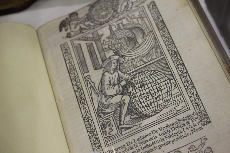 Itinerario de Ludovico de Verthema, Lodovico di Varthema, 1523 - Foire du Livre de Charjah