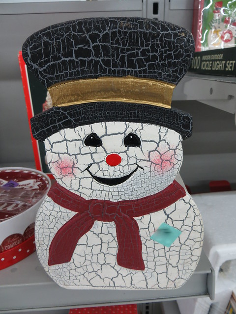 Cracked Snowman