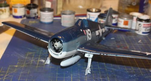 """Grumman F6F-3 Hellcat, """"Vit 19 Vraciu"""", Eduard 1/48 - Sida 3 38172011751_32c3e6b96a"""