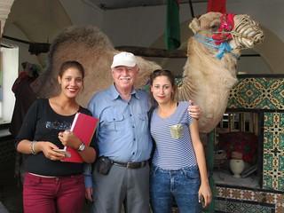 David Stanley in Kairouan
