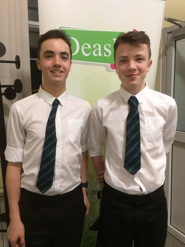 Cameron and Eoin took part in the Gaelic Debate in Stornaway.