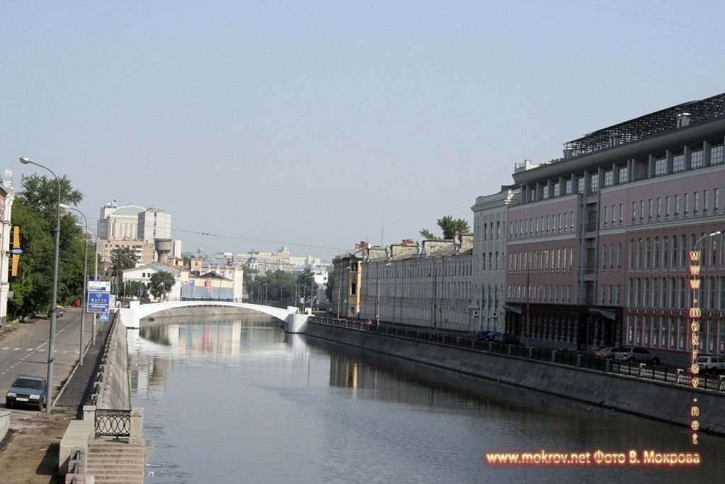 Москва, водоотводный канал.