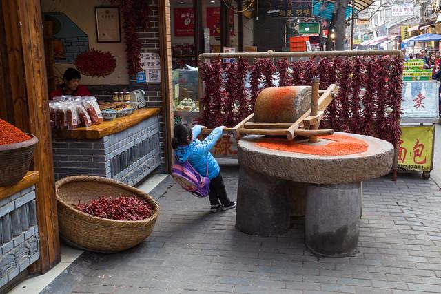 Chili in Xian - China