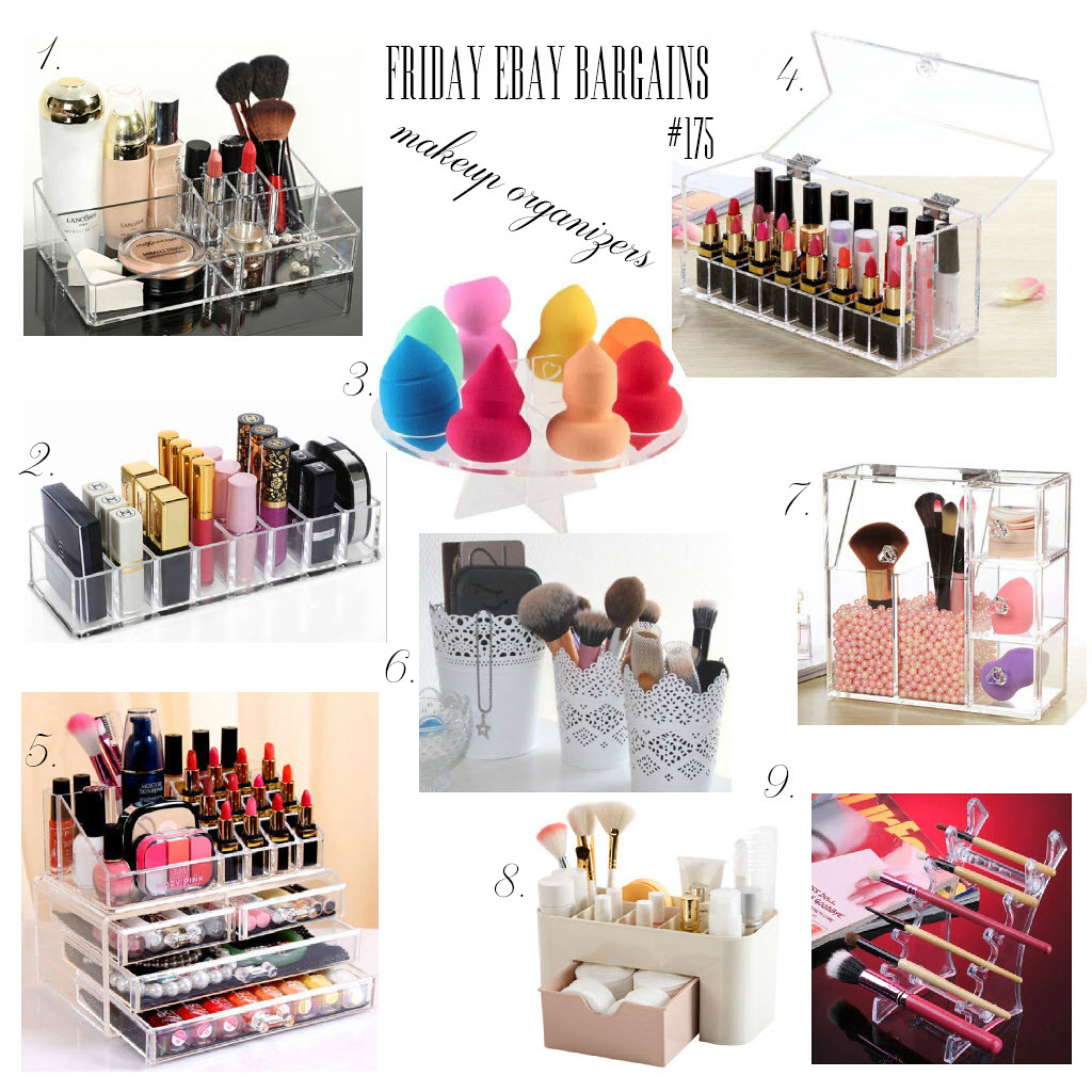 Ebay bargains makeup organizers