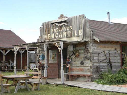 High Plains Homestead (Badlands Mercantile). From Seven Quirky Nebraska Detours