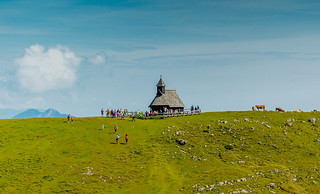 Church at Velika Planina