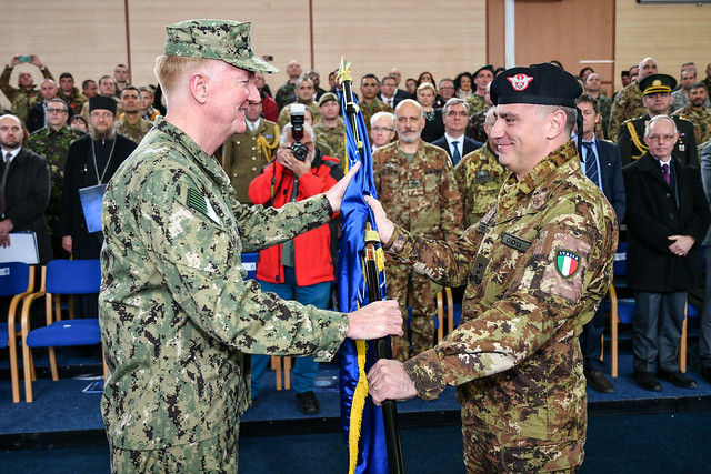 COMKFOR XXI Change of Command