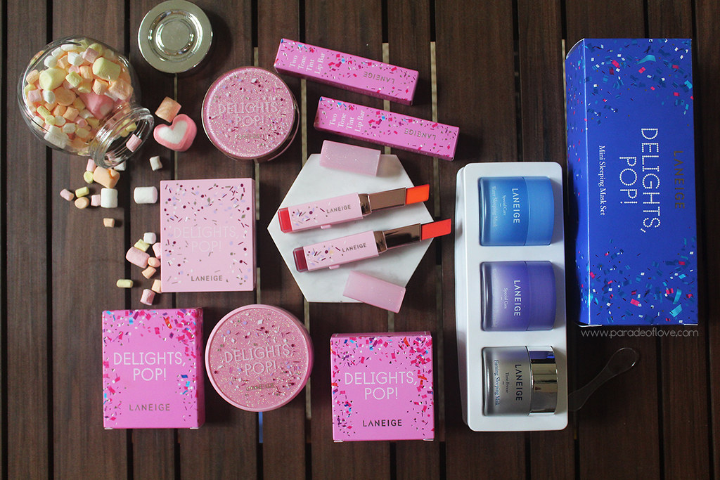 "LANEIGE ""Delights, Pop!"" Holiday Collection"