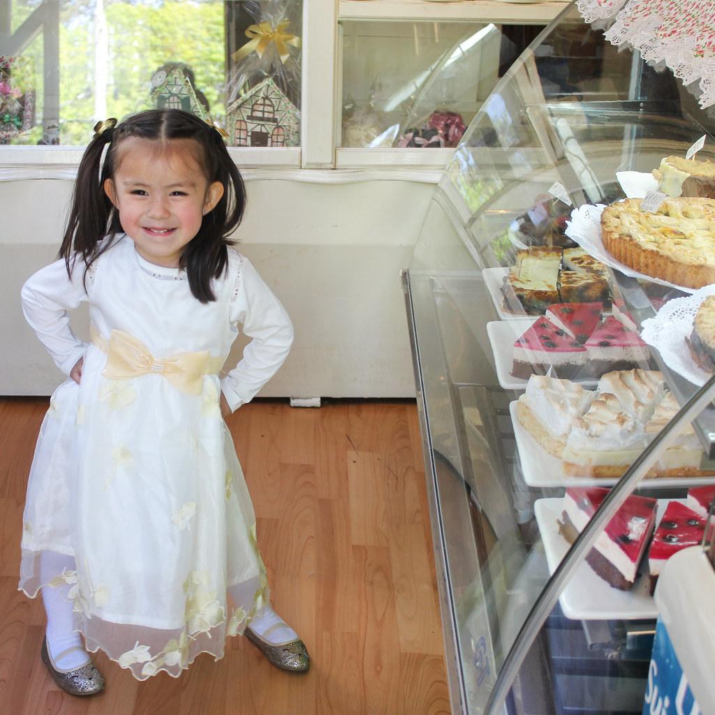 En la pastelería
