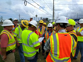 Safety before repairs, Puerto Rico power restoration, Nov. 10