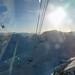 Výhled z kabiny LD na Zugspitze