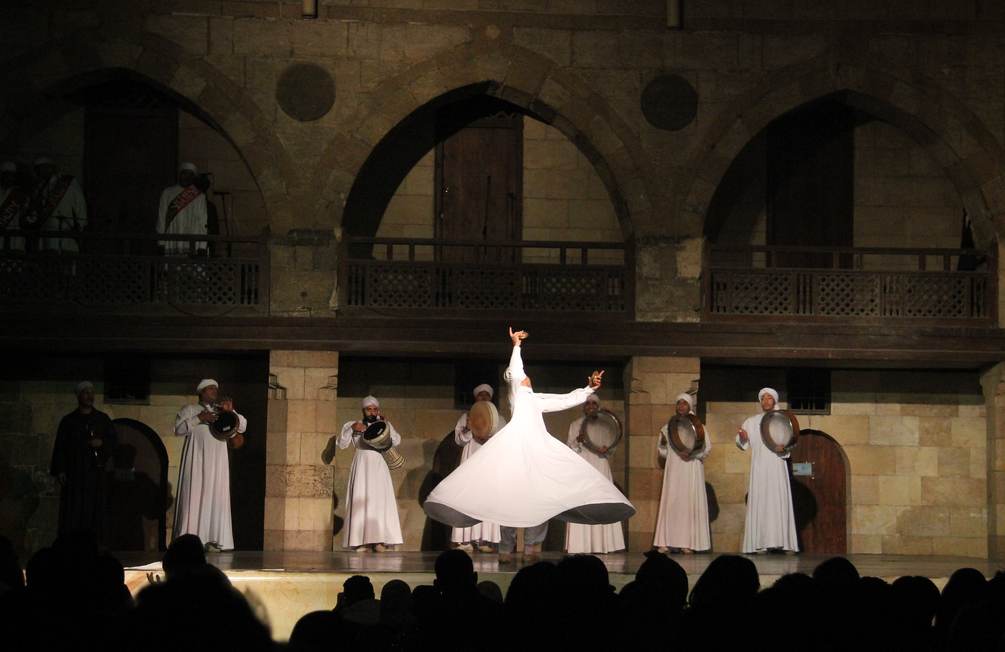 Tanoura dance originated in Syria