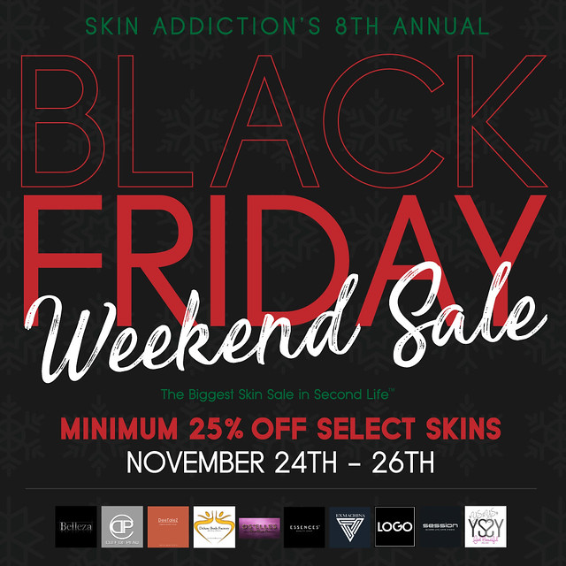 SA's 8th Annual Black Friday Sale
