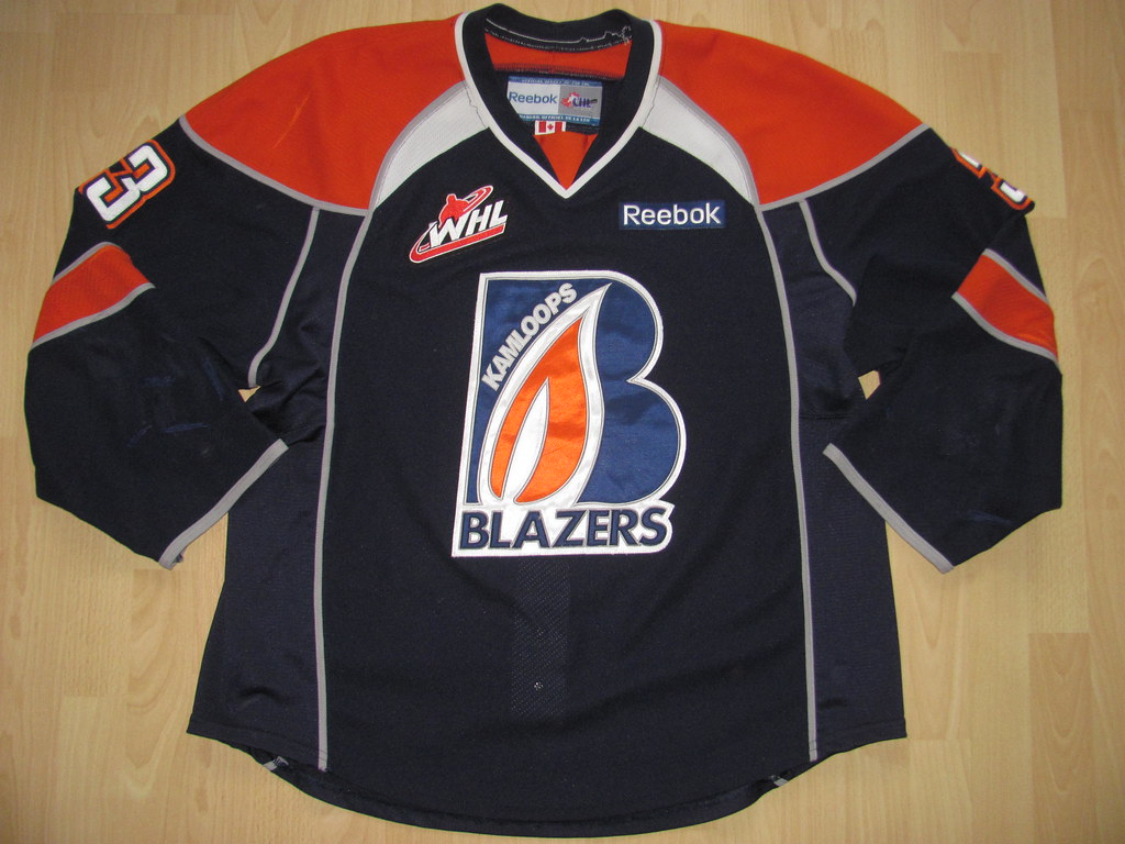 Kamloops Blazers 2012 - 2013 Game Worn Jersey  738e14314