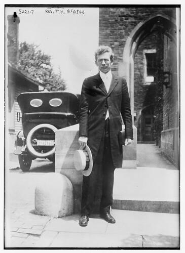 Rev. T.H. McAfee (LOC)