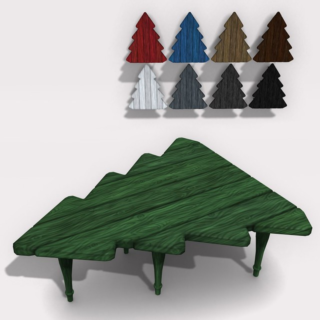 pine tree table
