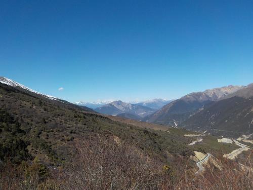 もっとも峠の上に最高地点があった