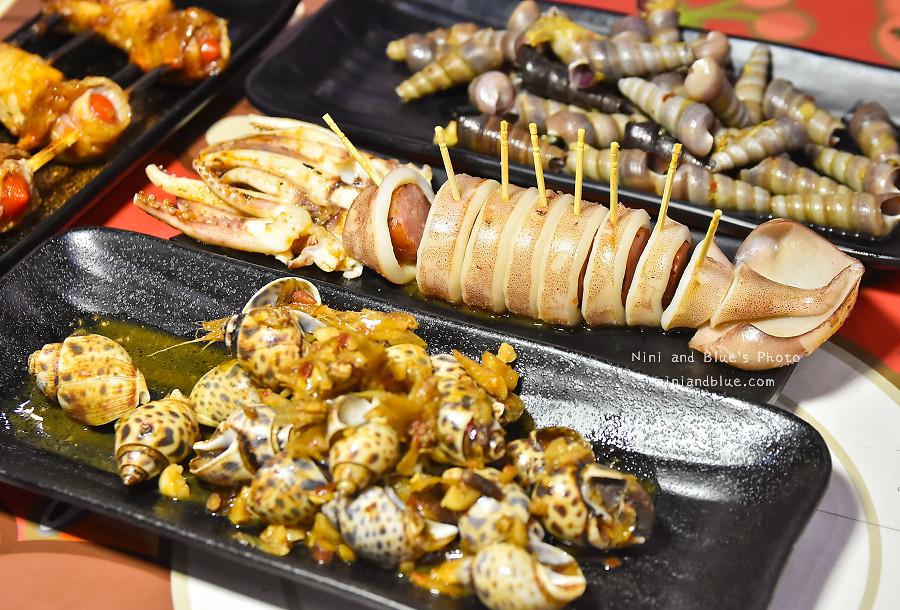 逢甲美食串燒烤海鮮熊老大15