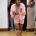 DSC_5791 Miss Southern Africa UK Beauty Pageant Contest at Oasis House Croydon Dec 2017 Mbali Pink Hotpants and Faux Fur Coat
