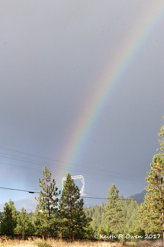 rainbow satuspass washington rain storm