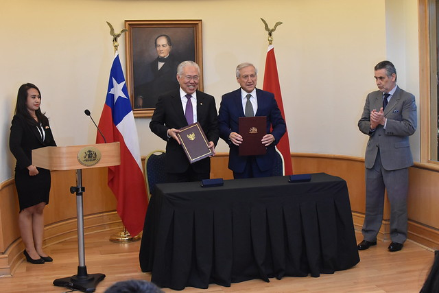Firma acuerdo CEPA Chile-Indonesia