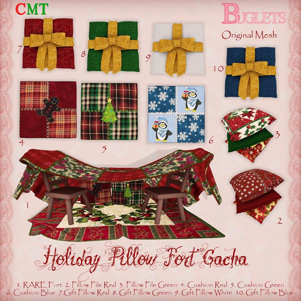 Holiday Pillow Fort Gacha Key - TeleportHub.com Live!