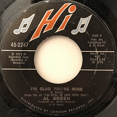 AL GREEN:HERE I AM(COME AND TAKE ME)(LABEL SIDE-B)