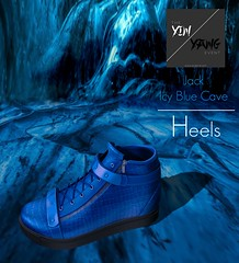 Heels JACK ICY BLUE CAVE SNEAKERS for JANUARY 2018 SCALA Yin/Yang Event