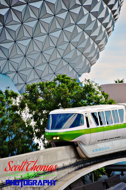 Approaching Epcot Station