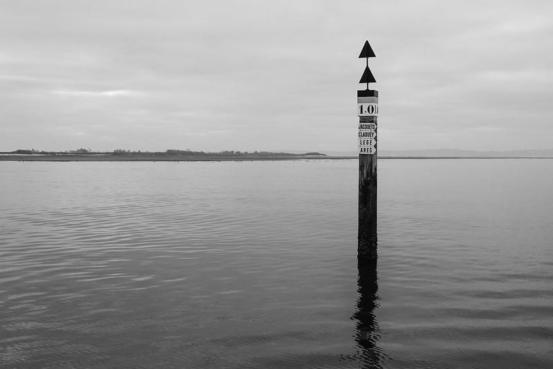 En bateau sur le bassin d'Arcachon - hiver 2016