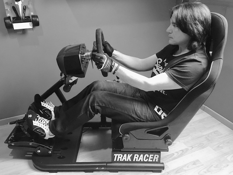 AussieStig in the Trak Racer RS6