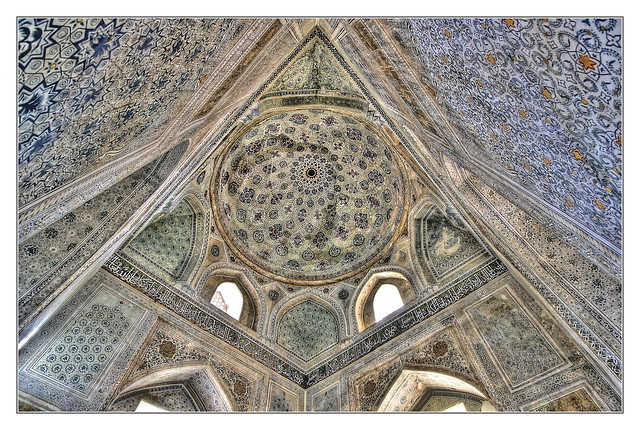 Shahrisabz UZ - Kok-Gumbaz mosque Mausoleum 04