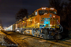 BNSF 5763 | GE ES44AC | NS Memphis District