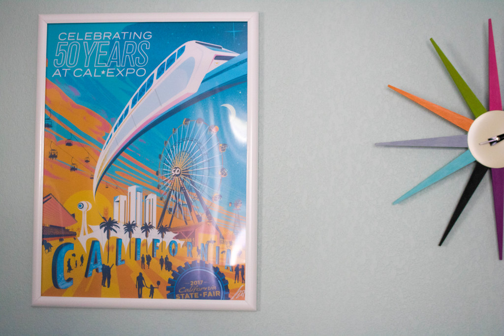 CA State Fair 50th Anniversary Poster