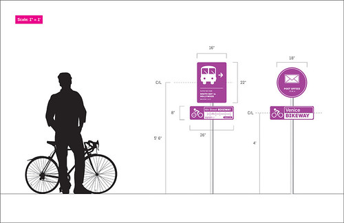 Better Bikeways signage by Joseph Prichard