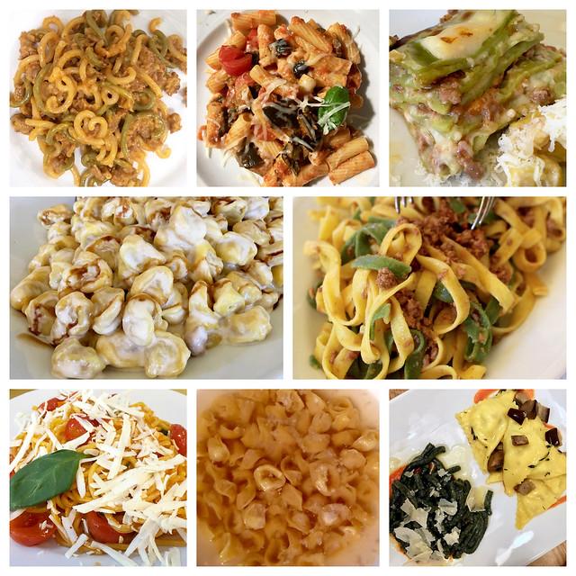 Bologna Pasta Collage